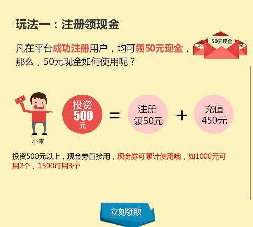 创立投注册认证送50元投资理财(本站最高奖励30元)
